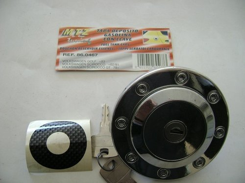 TAPON COMBUSTIBLE CON LLAVE VOLKSWAGEN GOLF 1983